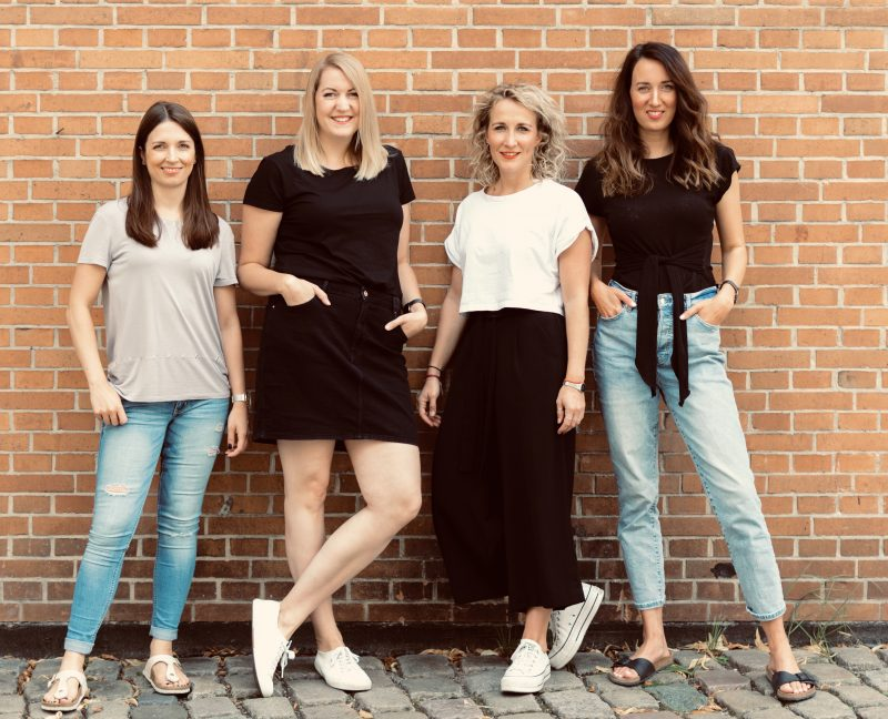 Carina, Tina, Hanna, Alice von HannoverDeinErnst