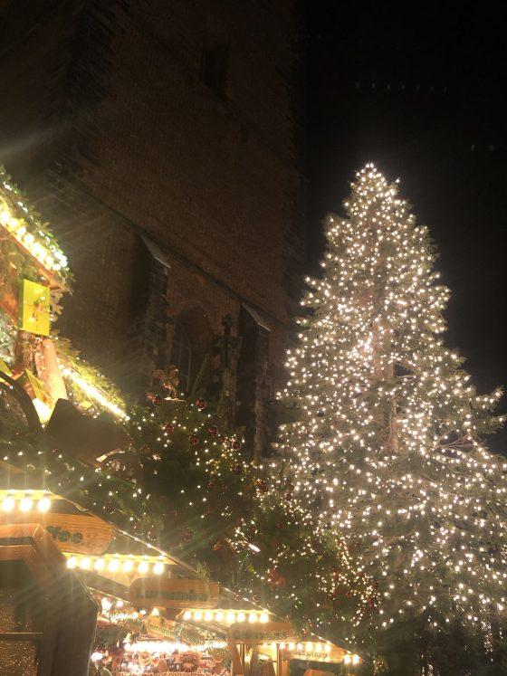 Weihnachtsmarkt-beleuchtete-Tanne