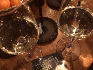Zwei-Weingläser